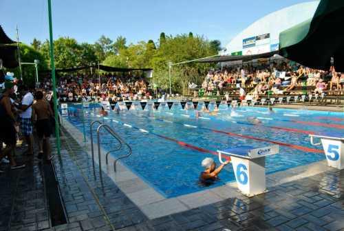 El torneo nacional de piscinas abiertas se realiz en la for Follando el la piscina
