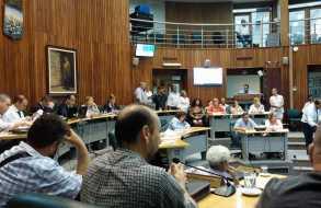 Por 16 votos en 31 aprobaron llamado a sala del Intendente Antía por la Contribución Inmobiliaria