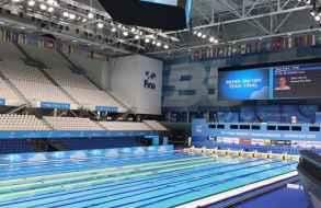 """Nadadores """"celestes"""" se preparan para debutar en el Mundial de Hungría"""