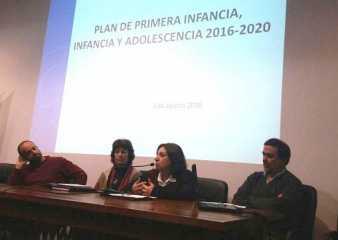 Presentan en Maldonado el Plan de Primera Infancia, Infancia y Adolescencia