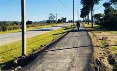 Culminó construcción de ciclovía en importante vía de tránsito de Pan de Azúcar