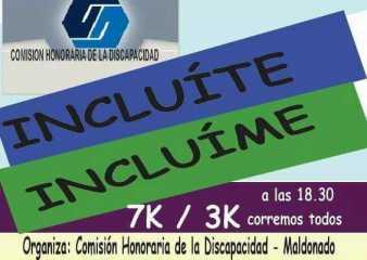 Evento de la Comisión Honoraria de la Discapacidad en el parque La Loma