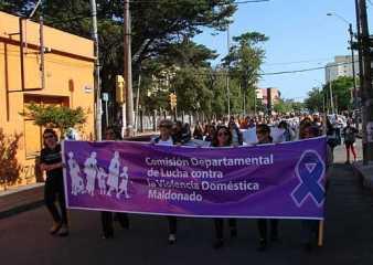 Desde este miércoles todo Maldonado se moviliza contra la violencia hacia las mujeres