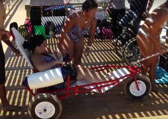 Playas accesibles en Punta del Este y Piriápolis se habilitarán el 18 de diciembre