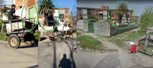 Captura de video y fotos tomadas por Google Street View en Montevideo, 2015.