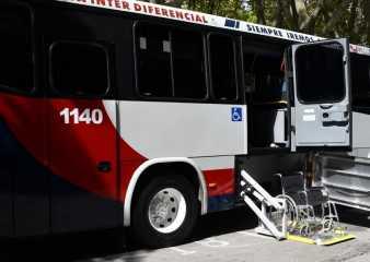 Personas con discapacidad viajarán gratis y con asiento en el transporte interdepartamental