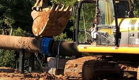 En forma paulatina se restablece el suministro de agua potable en la Zona Oeste de Maldonado