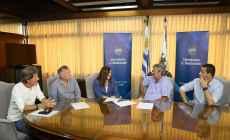 Firmaron convenio para que Piriápolis tenga su Plan Local de Ordenamiento Territorial