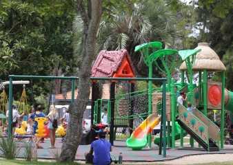 Cerca de 4.000 personas por día visitan el remodelado parque El Jagüel