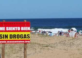 """Fundación Manantiales desarrolla campaña de verano """"Me siento bien sin drogas"""""""