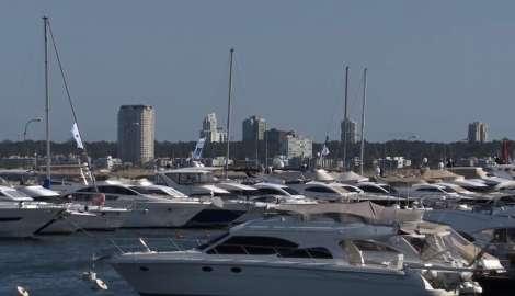 El puerto de Punta del Este cerró primera quincena de enero con un 93% de sus amarras ocupadas