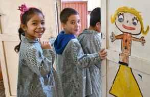 Se pone en marcha la segunda etapa del retorno a las escuelas de miles de niños en todo el país