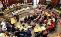 Escolares y liceales fueron reconocidos con los Premios Nueva Ciudadanía